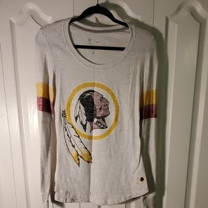 Nike Washington Redskins long sleeve shirt size M
